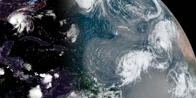 A look at all the tropical activity in the Atlantic basin.
