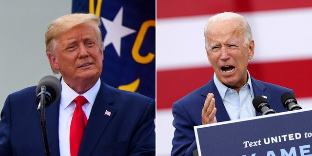 President Trump has repeatedly leveled attacks against Democratic presidential nominee Joe Biden over his mental acuity. (GETTY)