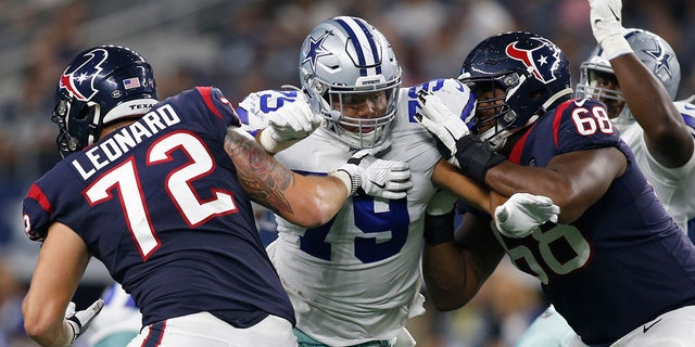 Dallas Cowboys defensive tackle Trysten Hill may face discipline. (Tim Heitman-USA TODAY Sports)
