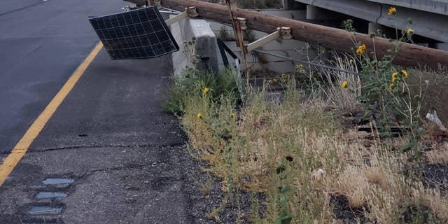 Storm damage in Utah.