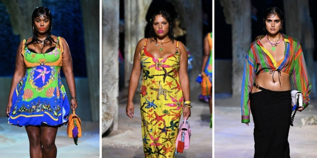Versace Spring/Summer 2021 collection. (Getty Images)