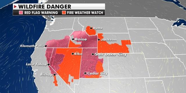 The fire danger for Thursday, Sept. 17, 2020.