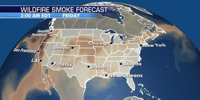The impacts from wildfire smoke will linger across the West.