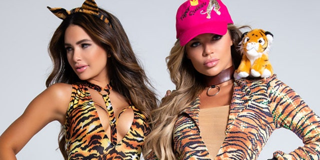 "The ""Coolest Cat"" and ""Tiger Queen"" costumes currently retail for $49.90 and $67.95, respectively."