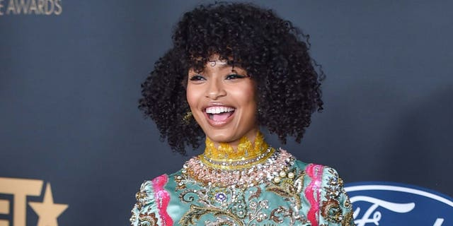 Yara Shahidi will play Tinker Bell in the upcoming 'Peter Pan and Wendy.' (Photo by Aaron J. Thornton/FilmMagic)
