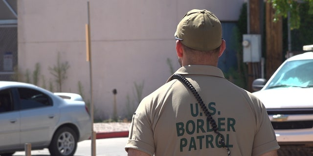 In Nogales, Ariz., U.S. Border Patrol agents remain on high alert, constantly scanning the U.S.-Mexico border wall. They tell Fox News that they've seen a recent surge in meth and fentanyl smuggling. (Stephanie Bennett/Fox News)