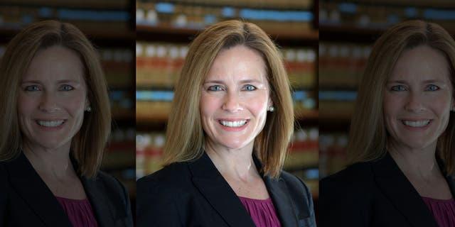 Judge Amy Coney Barrett is seen in a 2017 photo. (University of Notre Dame Law School via The Associated Press)