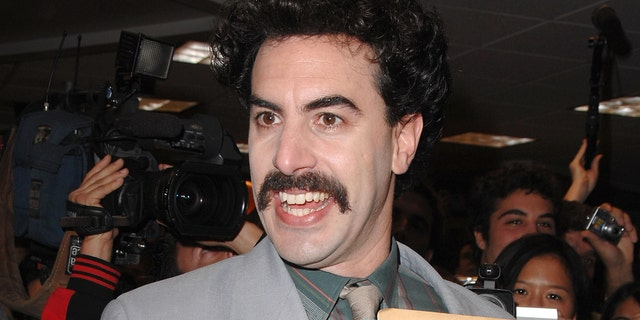 Trailer for long-awaited Borat movie starring British comic Sacha Baron Cohen published