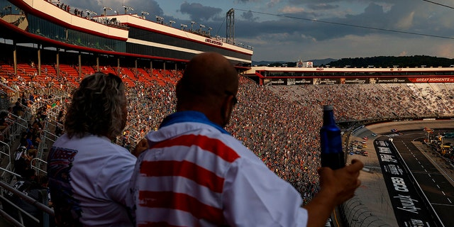 The AP estimated that 22,000 fans attended the NASCAR All-Star race at Bristol in July.