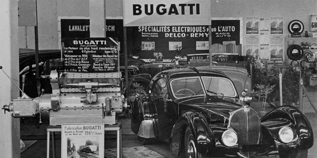 La Voiture Noire is believed to have disappeared as France was invaded at the beginning of World War II.