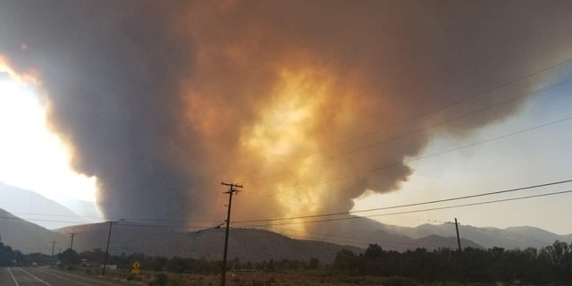 The Slink Fire has grown to some 11,000 acres.