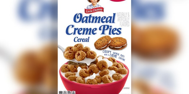 Little Debbie's Oatmeal Creme Pies cereal hit shelves in December. (Little Debbie)