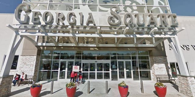 The alleged assault took place at Georgia Square Mall in Athens, Ga.