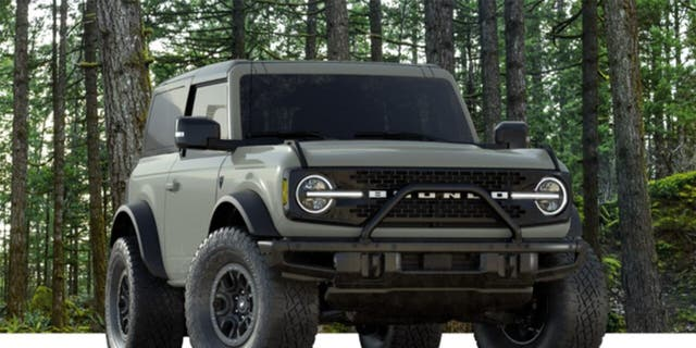 The sold-out Bronco First Edition comes standard with the Sasquatch package.