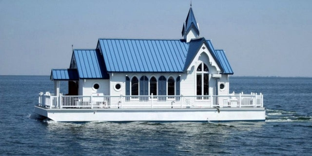 Chapel on the Bay is said to be one of just two floating chapels in the world