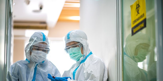More than 1,700 health care workers have died of COVID-19 and related complications — after many of them said they didn't have adequate personal protective equipment, according to the country's largest nurses union.