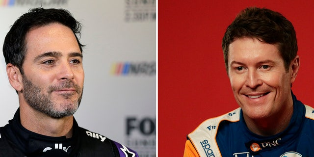 Jimmie Johnson will team with five-time IndyCar champion Scott Dixon at Ganassi.
