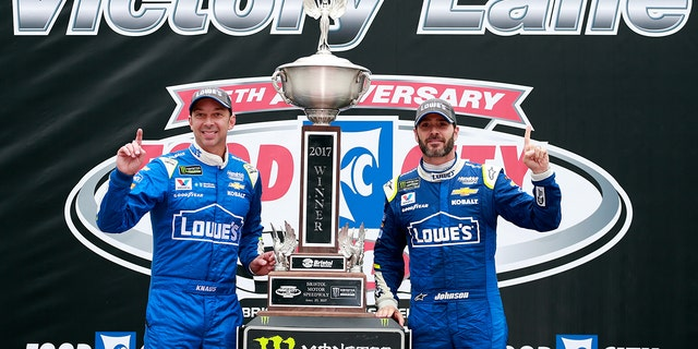 Knaus and Johnson won an unprecedented five championships together from 2006-2010.