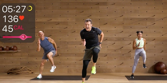 Apple Fitness+ app (Photo credit: Apple.com)