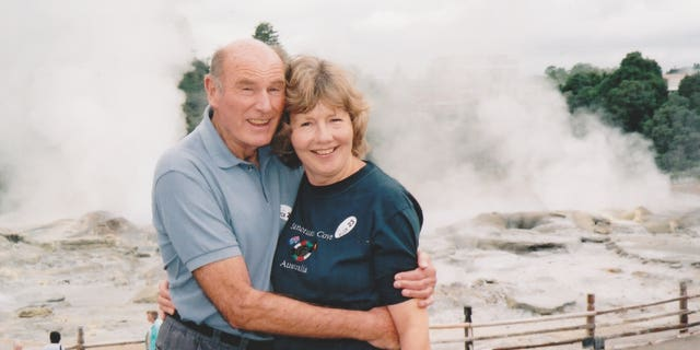 "The widower described his late wife as his ""soul mate"" and best friend."