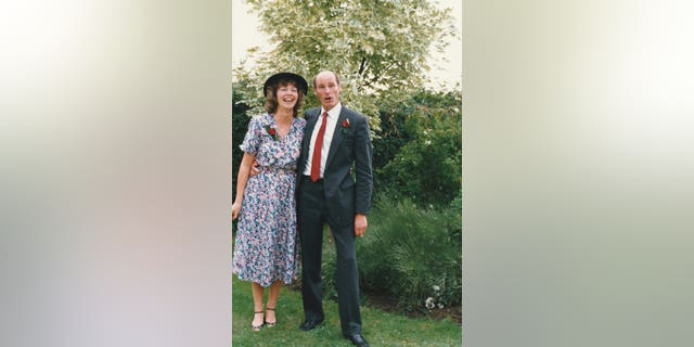 """Williams met Jo, a legal secretary, in a bar more than 35 years ago, and their marriage was """"perfect harmony""""."""