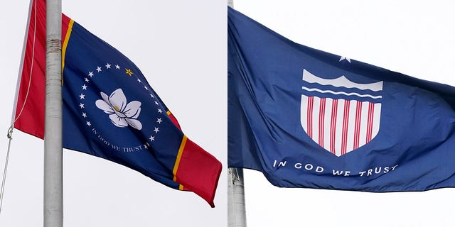 A Mississippi commission Wednesday will select the proposed design to replace the state's current flag which the state legislature voted to retire earlier this summer because of its inclusion of the Confederate battle emblem.