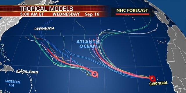 Tropical models show Paulette will be getting closer to Bermuda by next week.