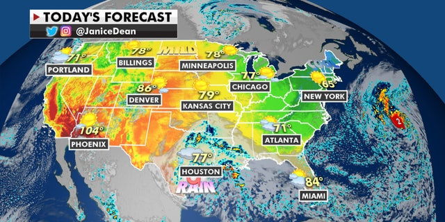 The national forecast for Sept. 21, 2020