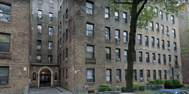 The apartment building where Bertha Arriaga was struck by a stray bullet. (Google Maps)