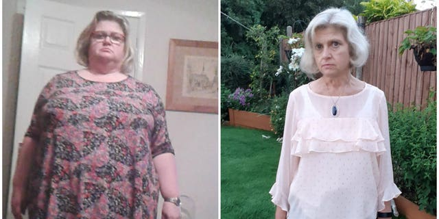 Catherine McNulty lost 165 pounds without cutting out favorite foods like pizza and pie. (SWNS)