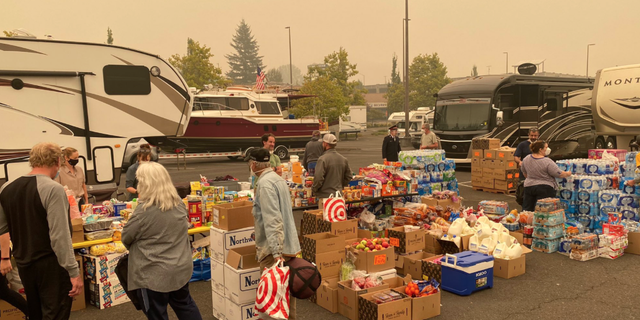 The Salvation Army has helped thousands of Oregonians already and plans to continue providing meals to evacuees as long as needed.