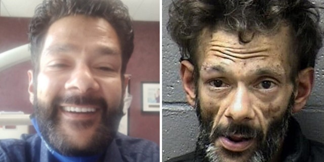 'Mighty Ducks' alum Shaun Weiss showed off an amazing transformation after becoming sober. At left, Weiss smiles with a new set of teeth. The right photo is his mug shot from a January 2020 arrest.