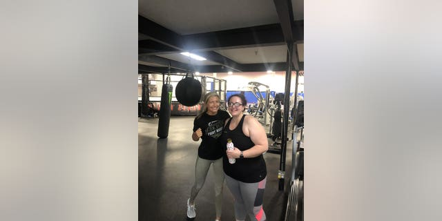 The New Mexico woman is feeling stronger than ever after embracing exercise and losing 125 pounds in just one year.