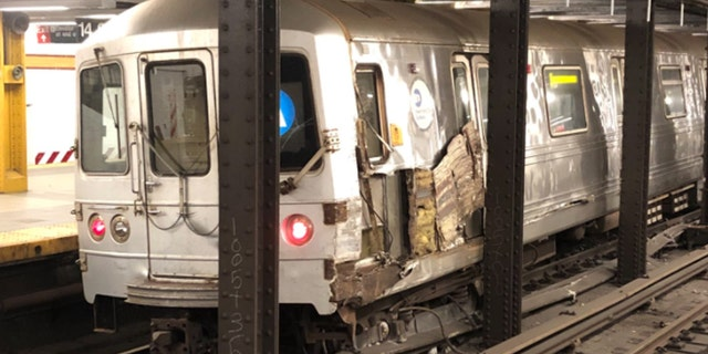 NYC subway train derails after striking 'debris' on tracks, suspect identified by police 19