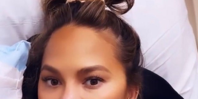Chrissy Teigen hospitalized over complications in high-risk pregnancy