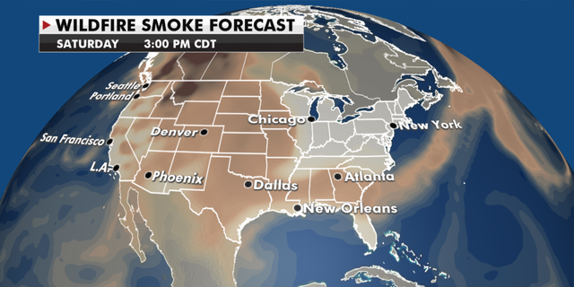 Wildfire Smoke warnings remain in effect as the wildfires continue (Fox News)