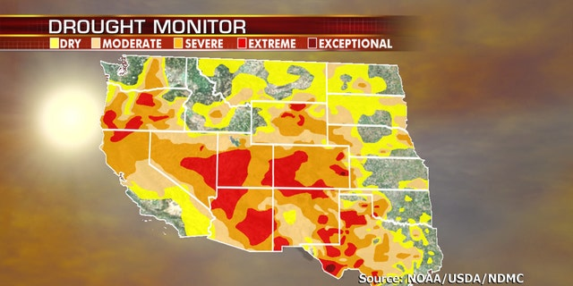 Drought conditions are worsening out West, as more extreme heat is in the forecast.