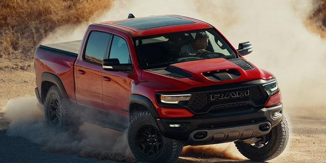 The Ram 1500 TRX goes on sale in late 2020.