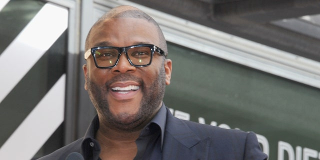Tyler Perry donated food to 5,000 families in need in Atlanta, Ga.