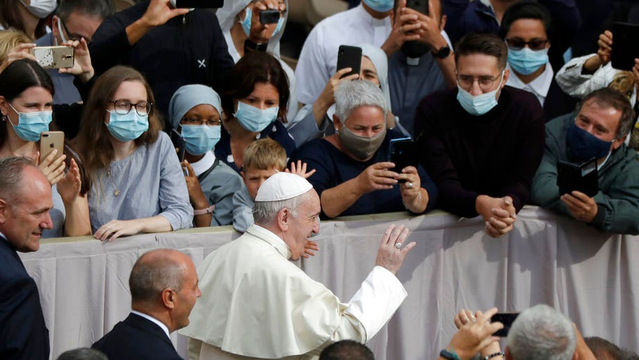 Pope holds first public audience in months, prays for Beirut and solidarity during coronavirus pandemic