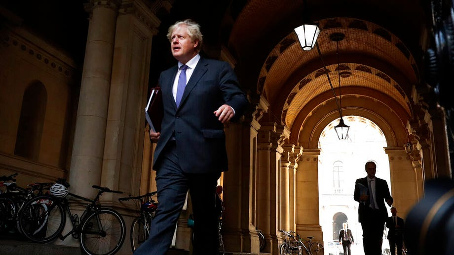 Boris Johnson says UK 'seeing a second wave coming in' of coronavirus, claims it was 'inevitable'