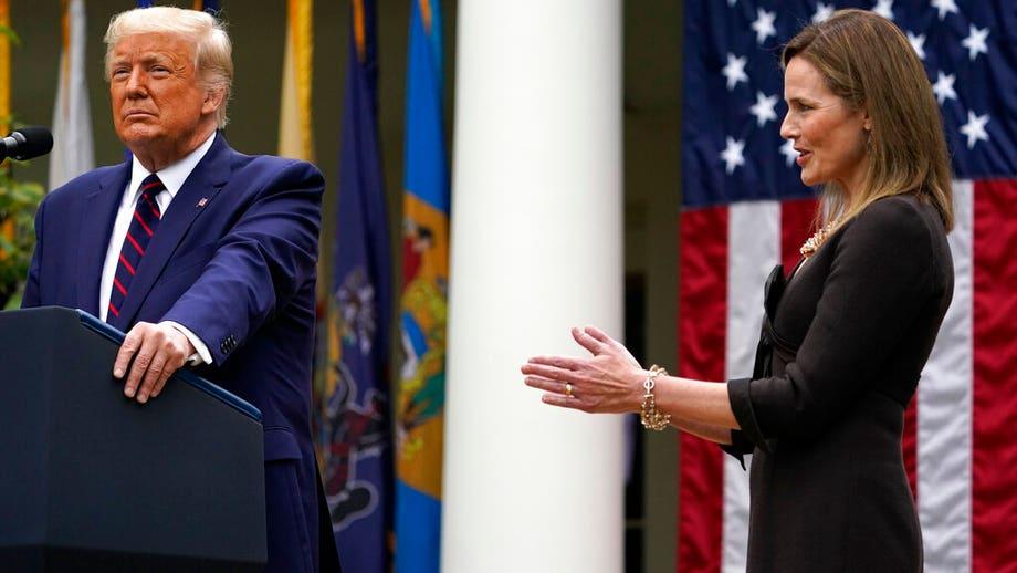Trump announces Amy Coney Barrett as nominee for Supreme Court seat