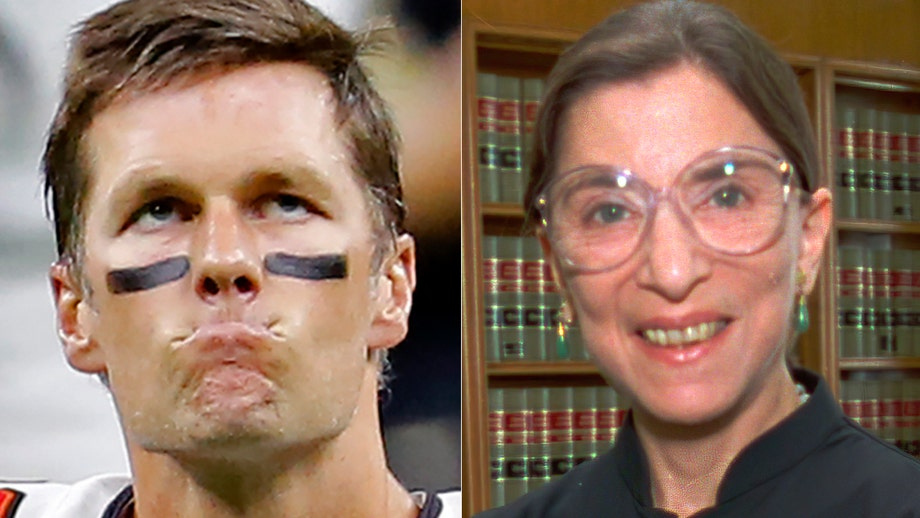 Tom Brady pays respects to Ruth Bader Ginsburg: 'We should all aspire to live our lives as principled as RBG'