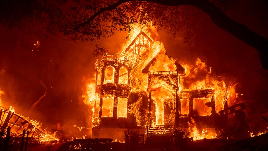 California wildfires rage as wine country blaze forces evacuation of hospital, thousands of homes