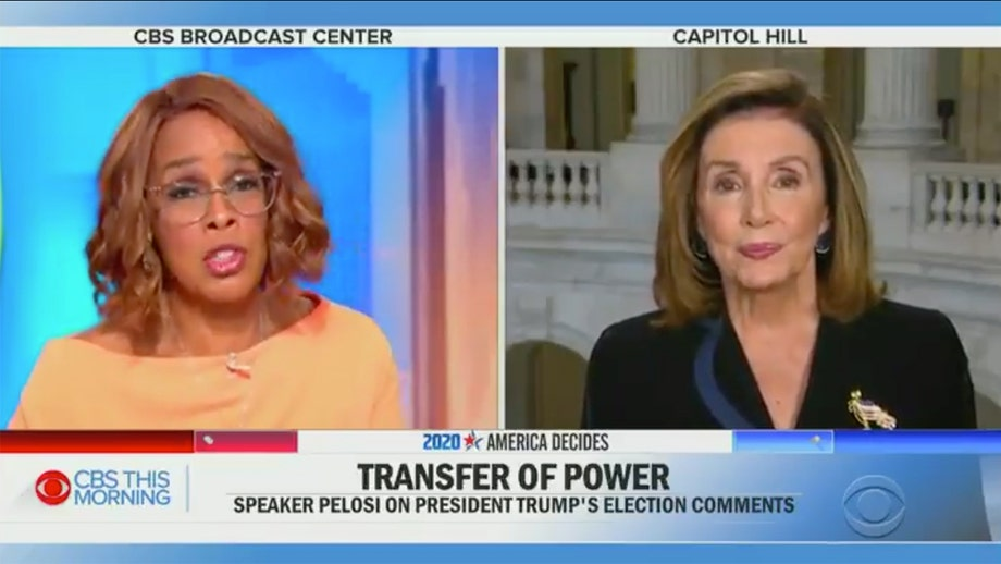 Gayle King pushes back at Pelosi's 'egregious' rhetoric after speaker slammed Trump's 'henchmen'