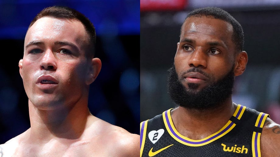 Colby Covington says LeBron James couldn't 'last 10 seconds with me' after NBA players jump to star's defense