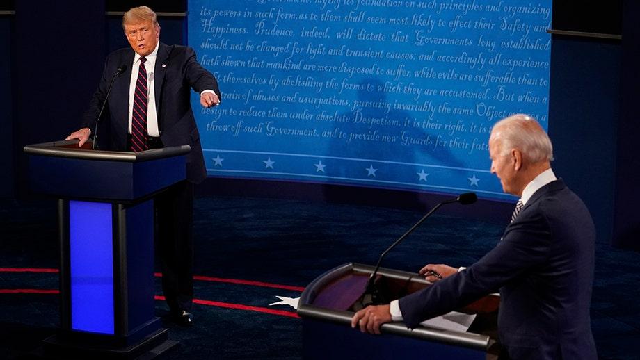 Presidential debate: Trump, Biden clash over Barrett Supreme Court nomination, ObamaCare as insults fly