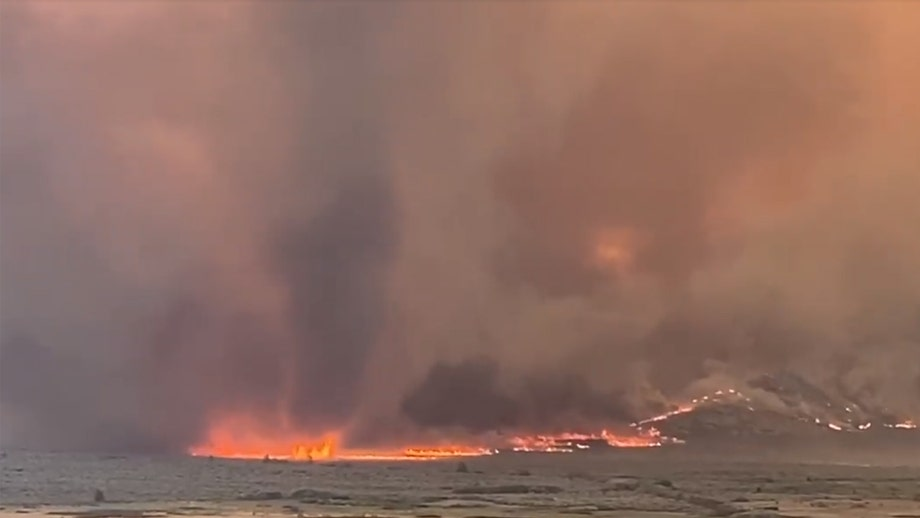 California wildfire whips up fire tornado after showing 'extreme fire behavior'