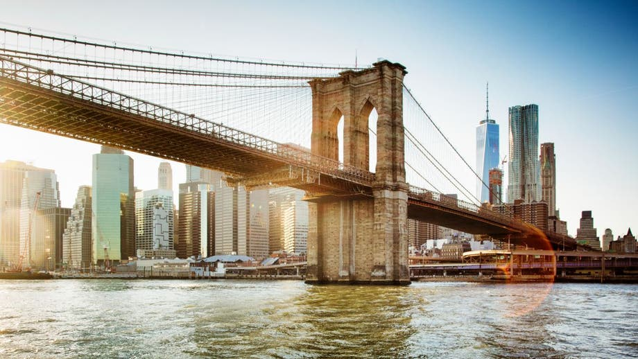 Brooklyn Bridge proposal goes viral over bike accident