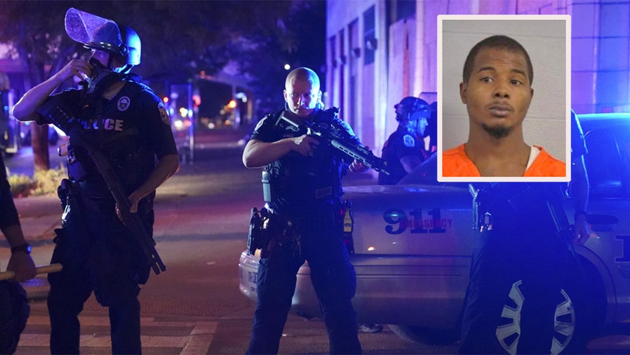 Suspect accused of shooting cops ID'd as Louisville sees nearly 100 arrests after grand jury decision